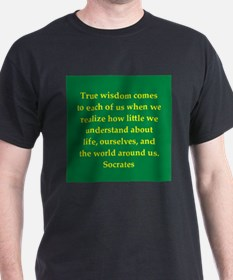 Wisdom of Socrates T-Shirt