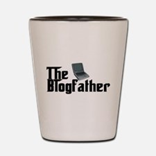 The Blogfather Shot Glass