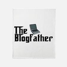 The Blogfather Throw Blanket