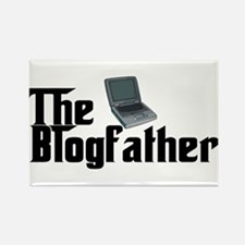 The Blogfather Rectangle Magnet