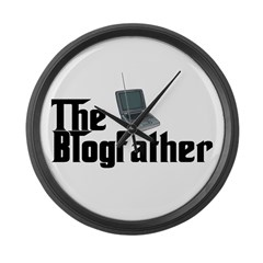 The Blogfather Large Wall Clock