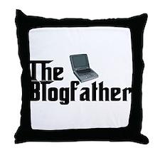 The Blogfather Throw Pillow