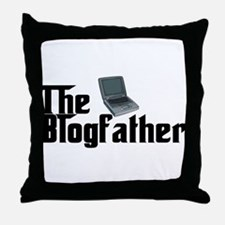 The Blogfather Throw Pillow