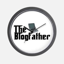 The Blogfather Wall Clock