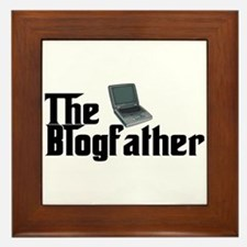The Blogfather Framed Tile
