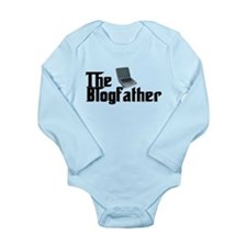 The Blogfather Long Sleeve Infant Bodysuit