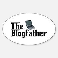 The Blogfather Sticker (Oval)