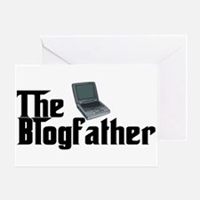 The Blogfather Greeting Card
