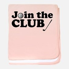 'Join The Club' baby blanket