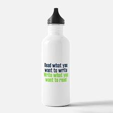 Read & Write Water Bottle