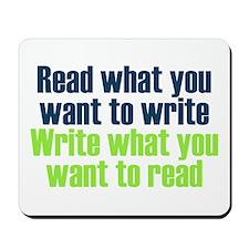 Read & Write Mousepad