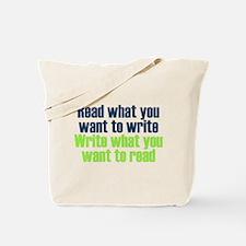 Read & Write Tote Bag