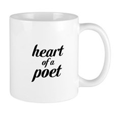 heart of a poet Mug