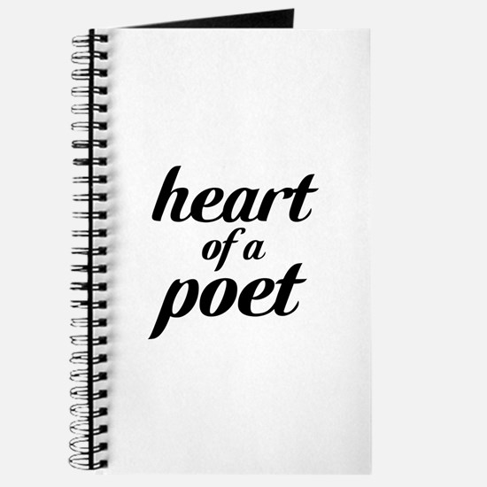 heart of a poet Journal