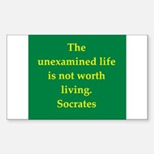 Wisdom of Socrates Decal