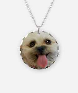 Lilly the Shih-poo Necklace