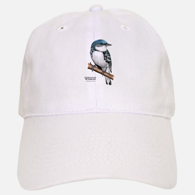 Cerulean Warbler Baseball Baseball Cap