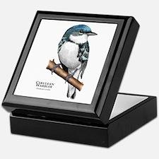 Cerulean Warbler Keepsake Box