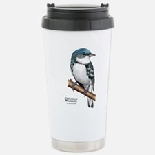 Cerulean Warbler Stainless Steel Travel Mug