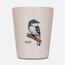 Cerulean Warbler Shot Glass