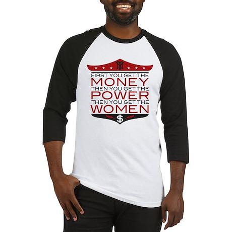 Scarface Money Power Women Baseball Jersey