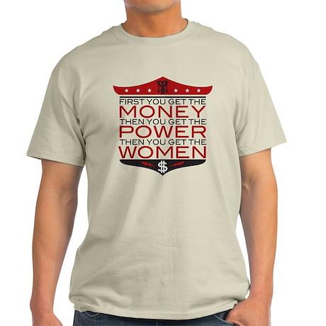 Scarface Money Power Women Light T-Shirt