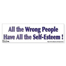 All the Wrong People Have All Bumper Sticker
