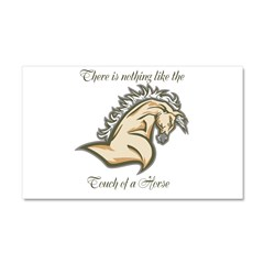 Touch of a horse Car Magnet 20 x 12