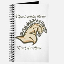 Touch of a horse Journal