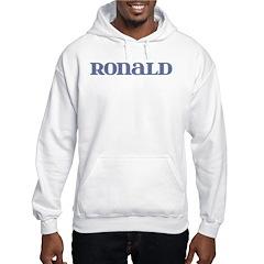 Ronald Blue Glass Hoodie