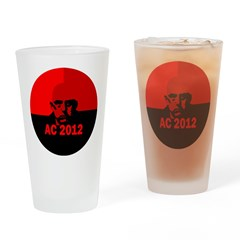 Aleister Crowley 2012 Drinking Glass