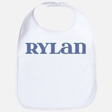 Rylan Blue Glass Bib