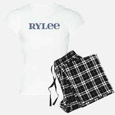 Rylee Blue Glass Pajamas