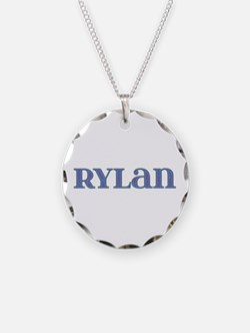 Rylan Blue Glass Necklace