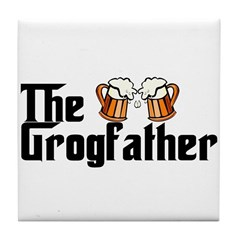 The Grogfather Tile Coaster