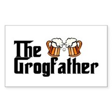 The Grogfather Decal