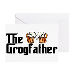 The Grogfather Greeting Cards (Pk of 10)