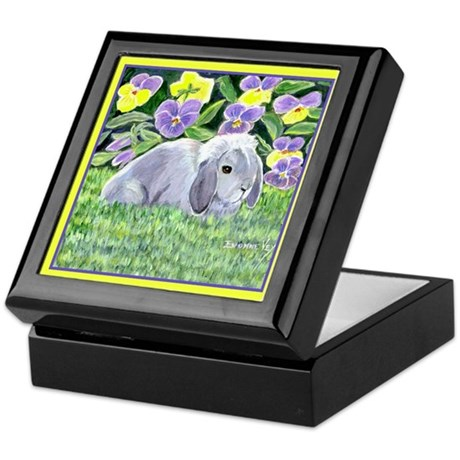 Spencer Rabbit Keepsake Box