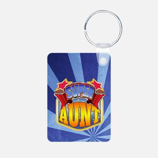 Super Aunt Keychains