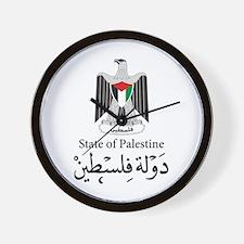 State of Palestine Wall Clock