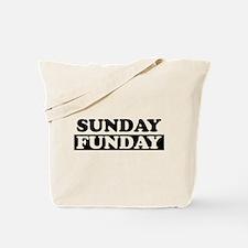 Unique Sunday funday Tote Bag