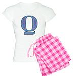 Q Blue Glass Women's Light Pajamas