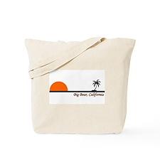 California surfing bear Tote Bag