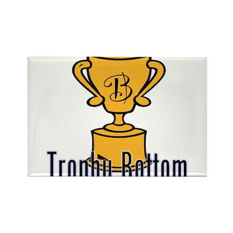 Trophy Bottom Rectangle Magnet (10 pack)