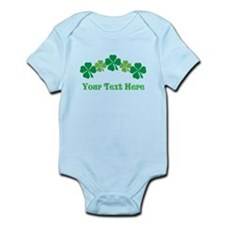 Irish St Patricks Personalized Infant Bodysuit