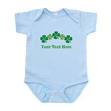 Irish St Patricks Personalized Onesie