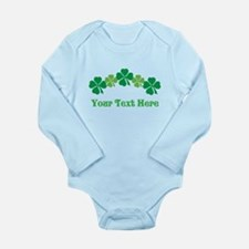 Irish St Patricks Personalized Long Sleeve Infant