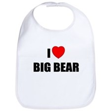 Funny Big bear lake Bib