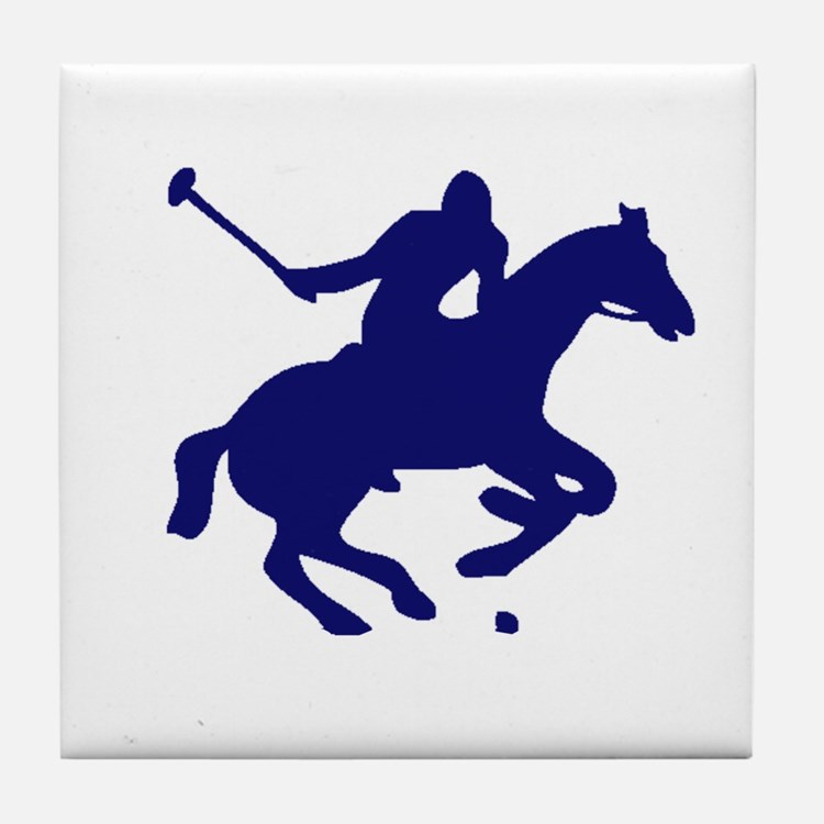POLO HORSE Tile Coaster