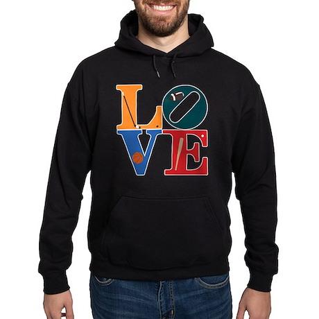 Love Philly Sports Hoodie (dark)